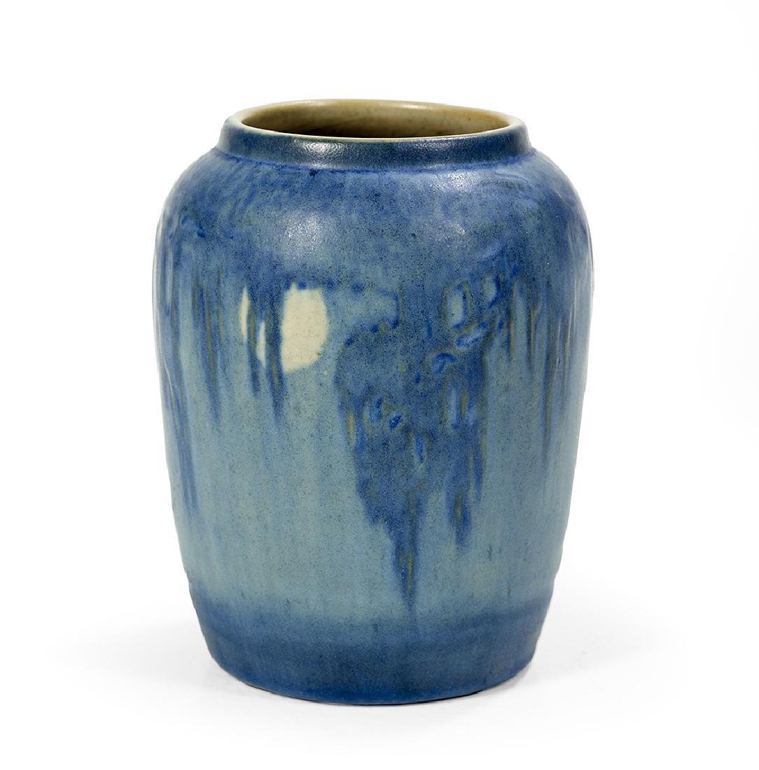 Newcomb College Art Pottery, matte-glazed vase, ca.