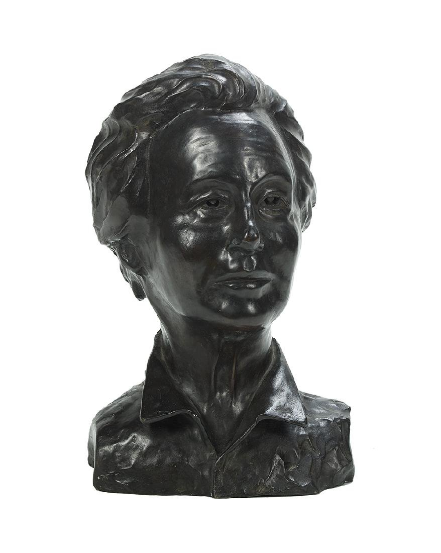 "Jacob Epstein, (Polish/Israeli, 1921-2003), ""Bust of"