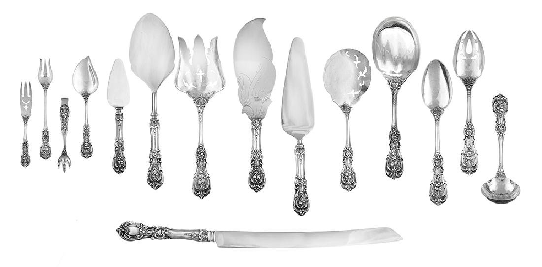 """Fifteen Reed & Barton """"Francis I"""" Sterling Silver"""