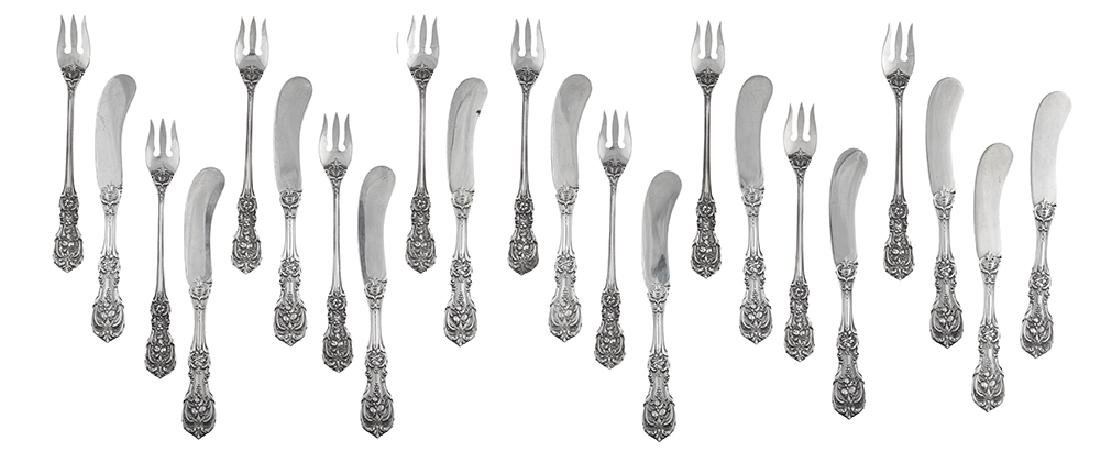 """Twenty-Two Pieces of Reed & Barton """"Francis I"""" Sterling"""