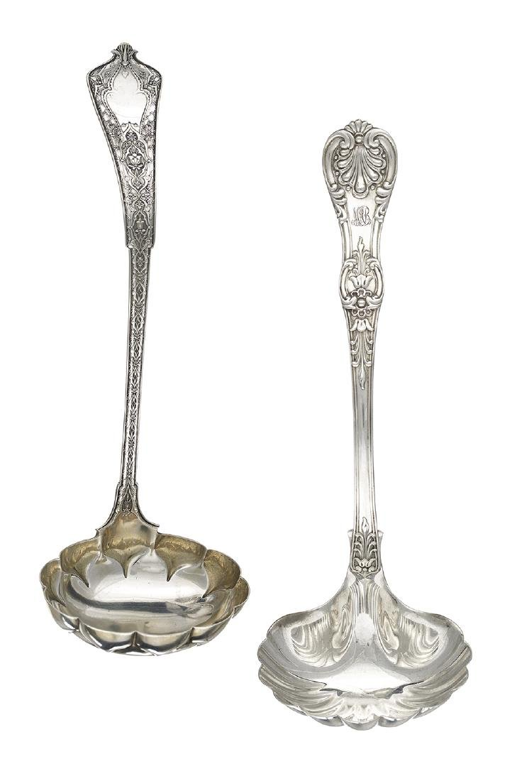 Two 19th-Century Tiffany & Co. Sterling Silver