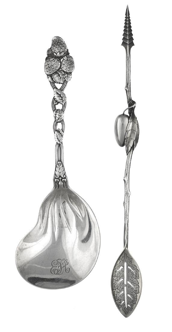 Two Fine Gilded Age Sterling Silver Serving Pieces