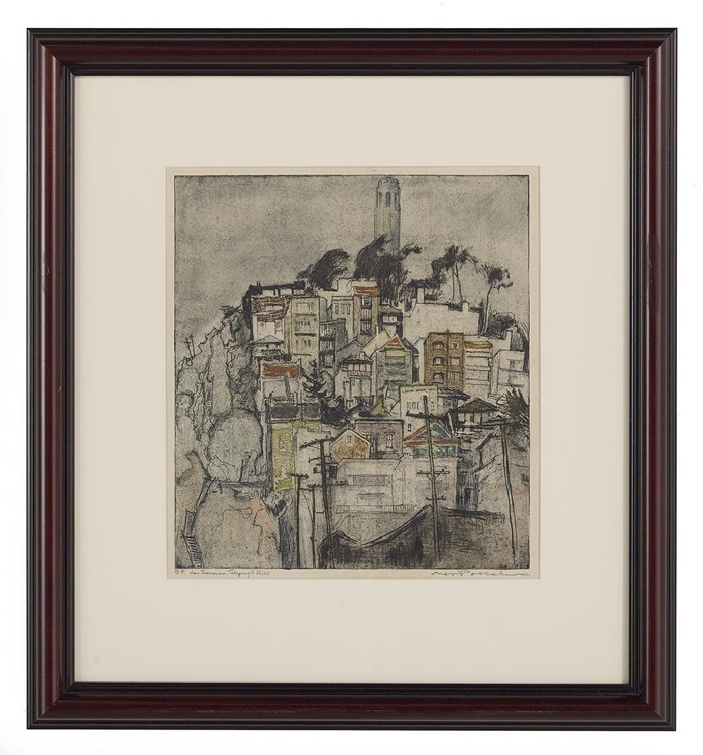"Max Pollak, (American, 1886-1970), ""San Francisco, Hyde - 2"