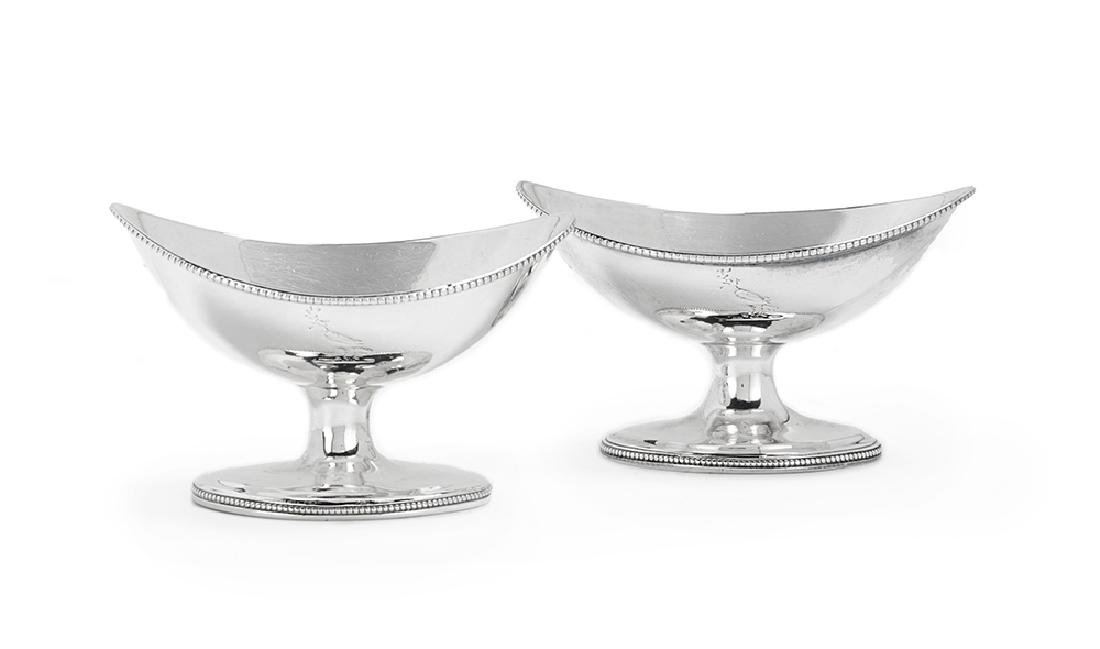 Pair of George III Sterling Silver Salt Cellars