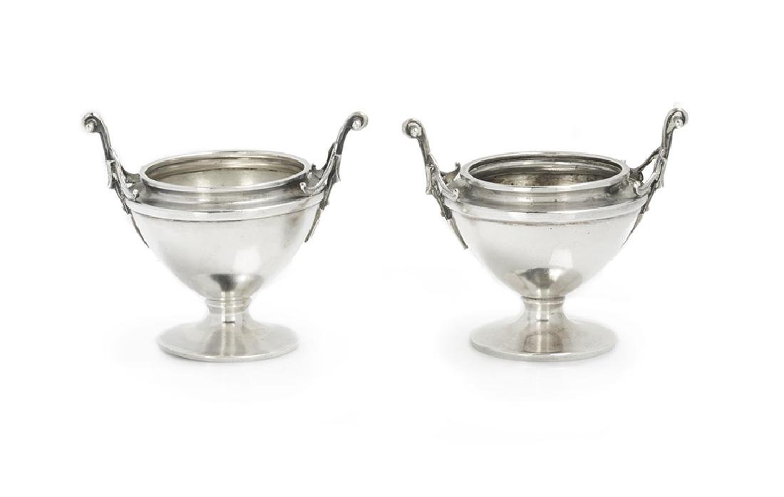 Pair of Gorham Sterling Silver Salt Cellars