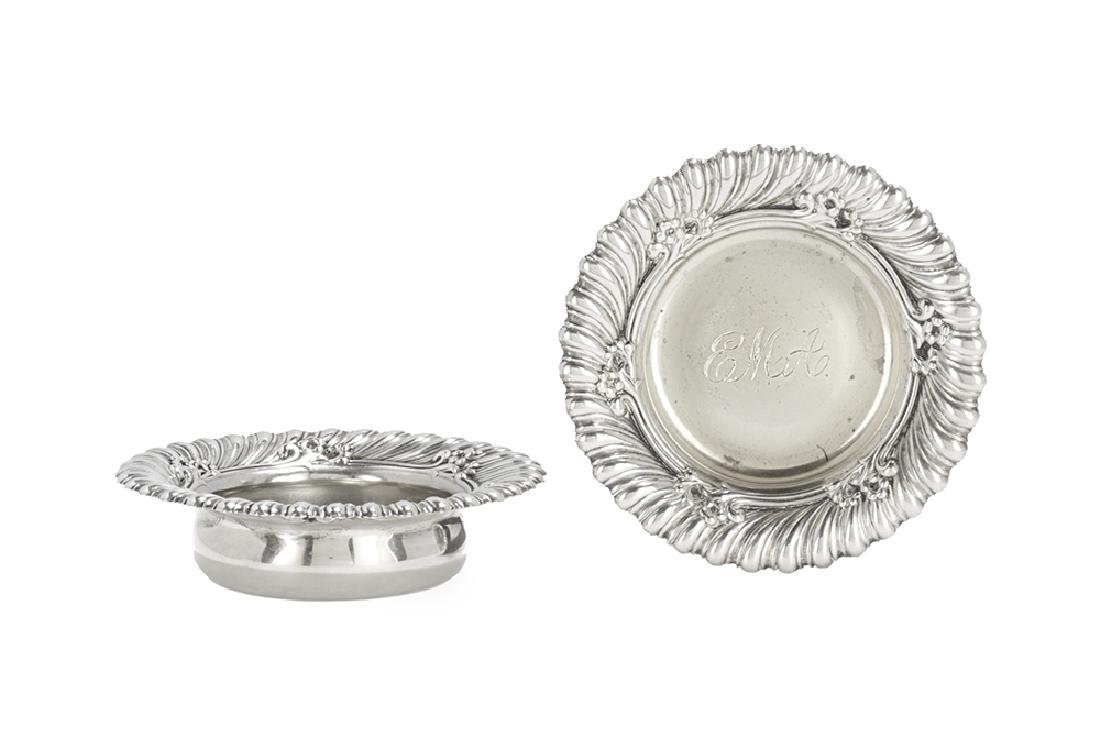 Pair of Whiting Sterling Silver Salt Cellars