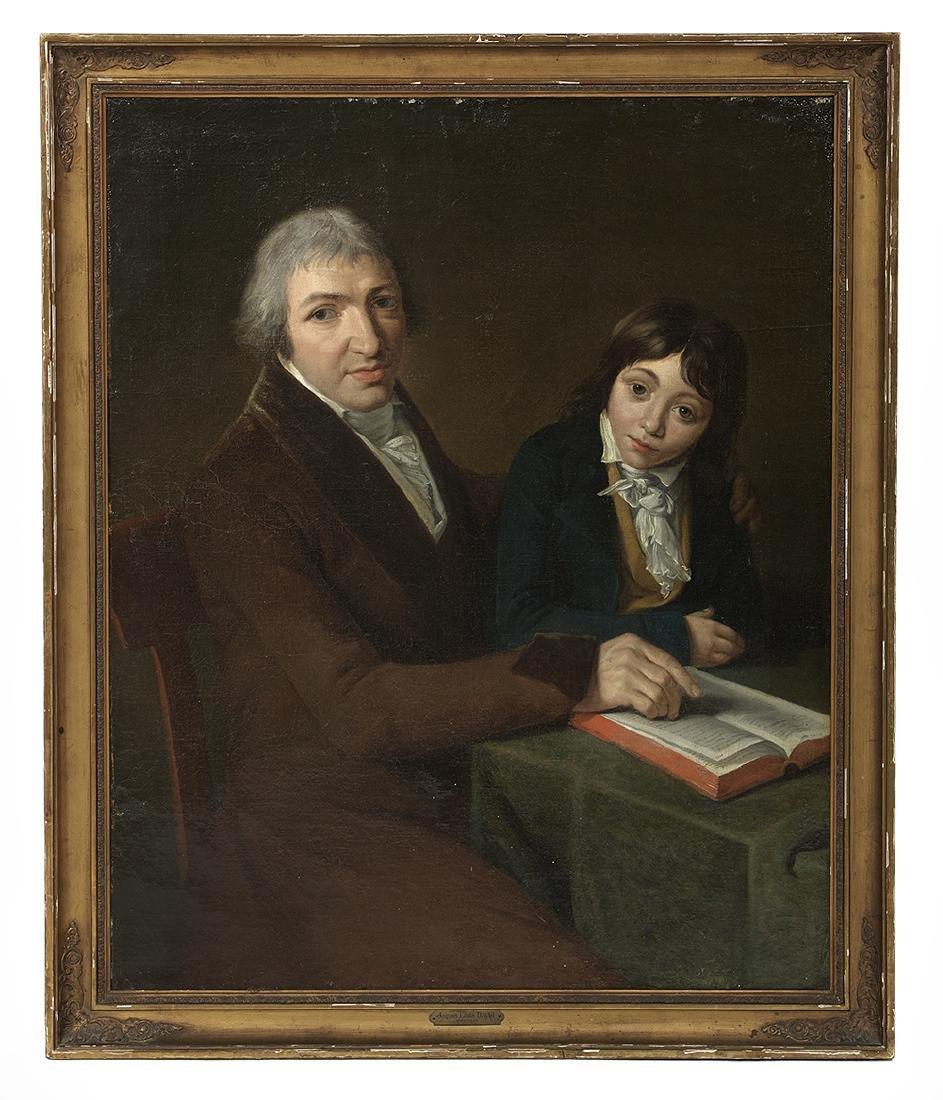 Circle of J.-L. David (French, 1748-1825)