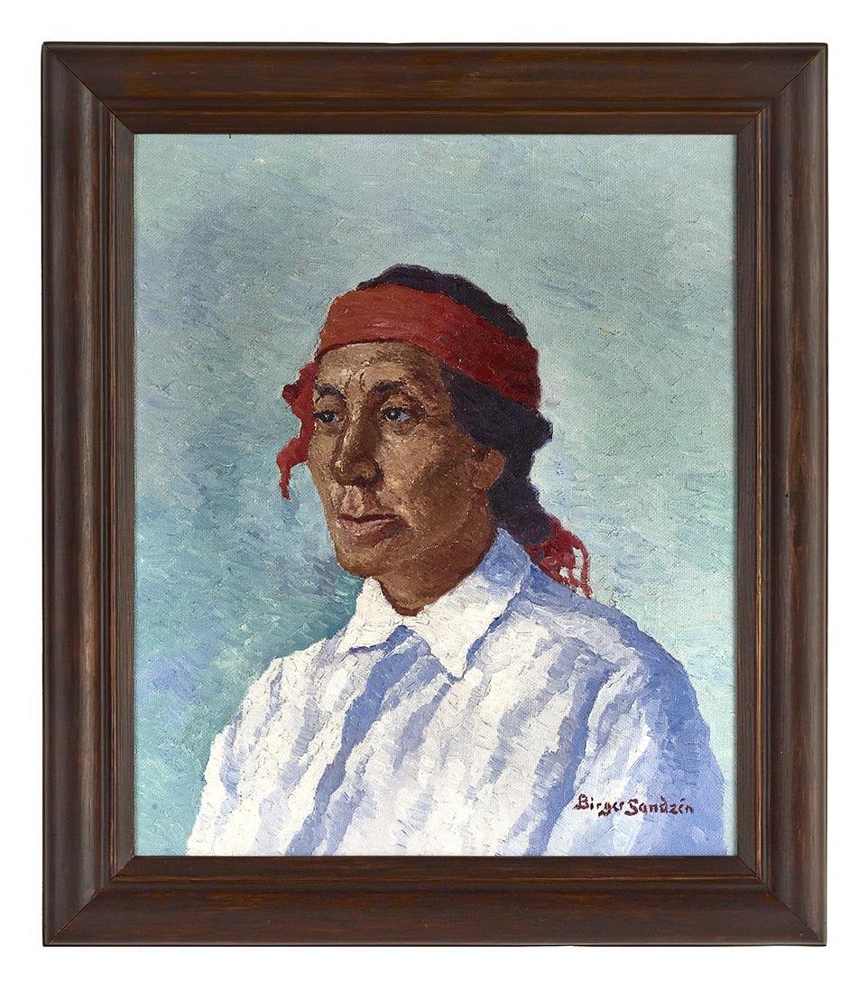 Birger Sandzen (Swedish/Kansas, 1871-1954)
