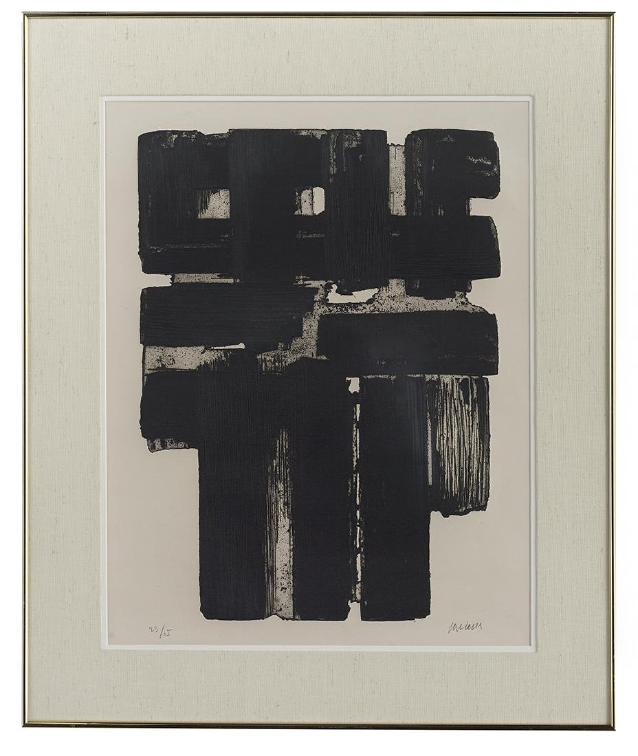 Pierre Soulages (French, b. 1919)