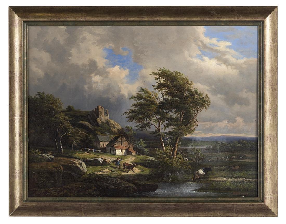Jean-Baptiste Kindermans (Belgian, ca. 1822-1876)