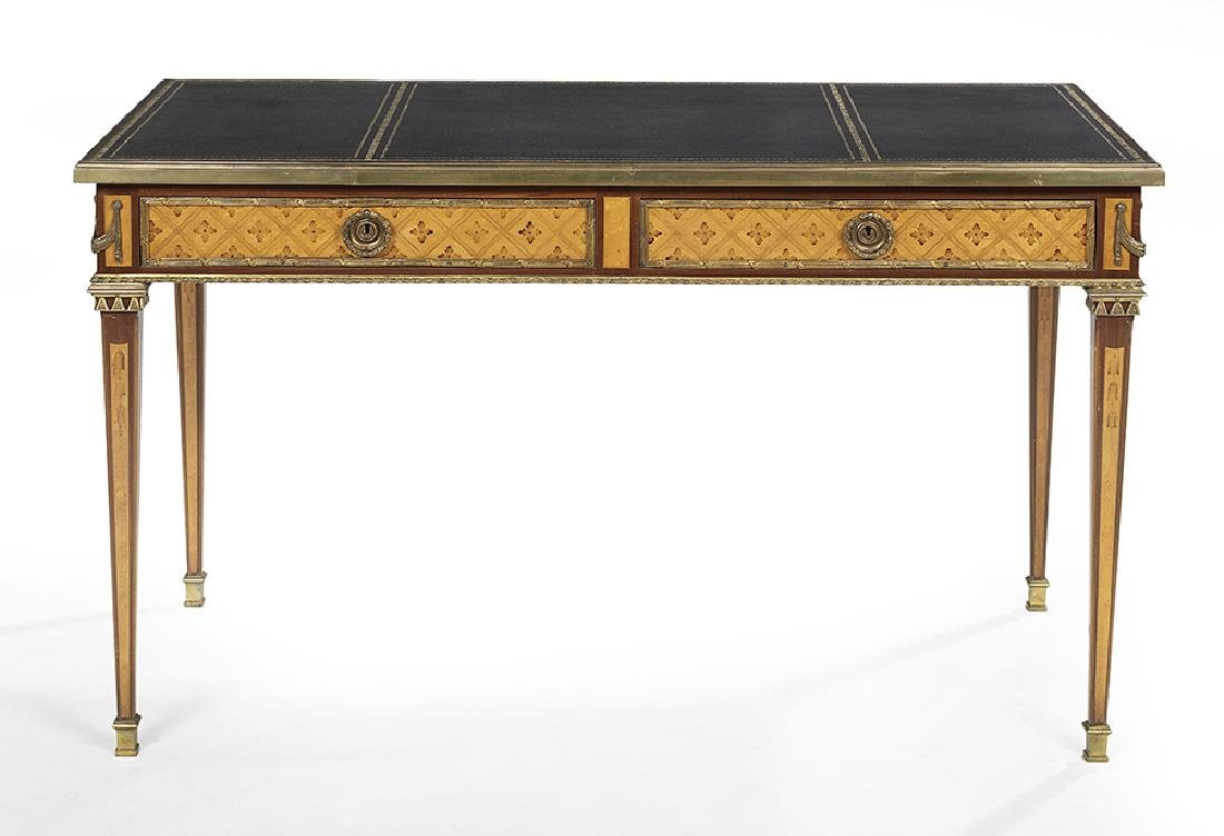 Louis XVI-Style Fruitwood Writing Table