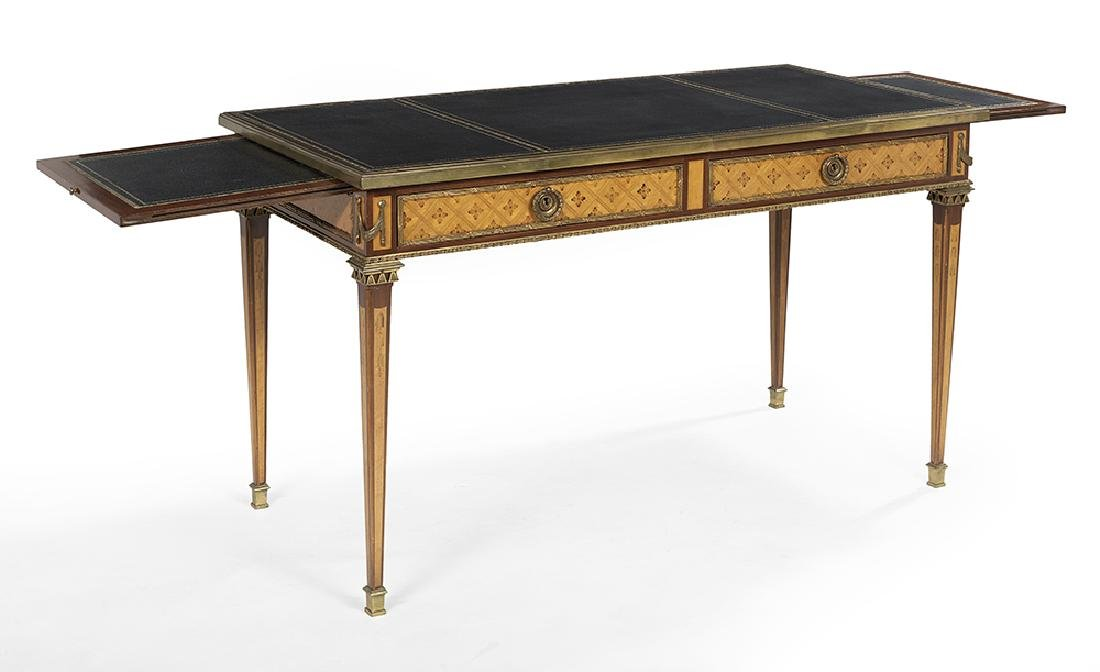 Louis XVI-Style Fruitwood Writing Table - 2