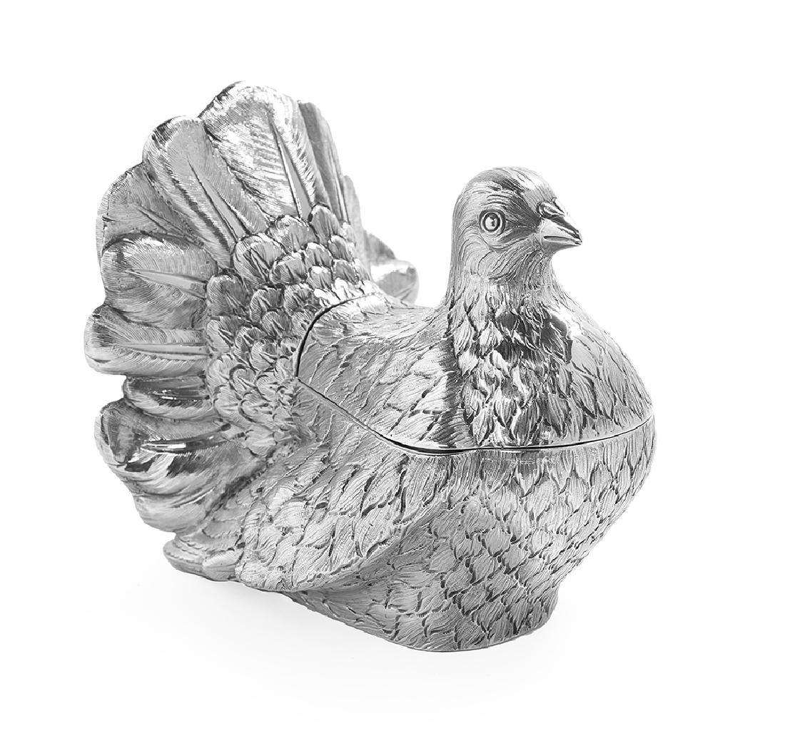 Tiffany & Co. Silver Figural Tea Caddy