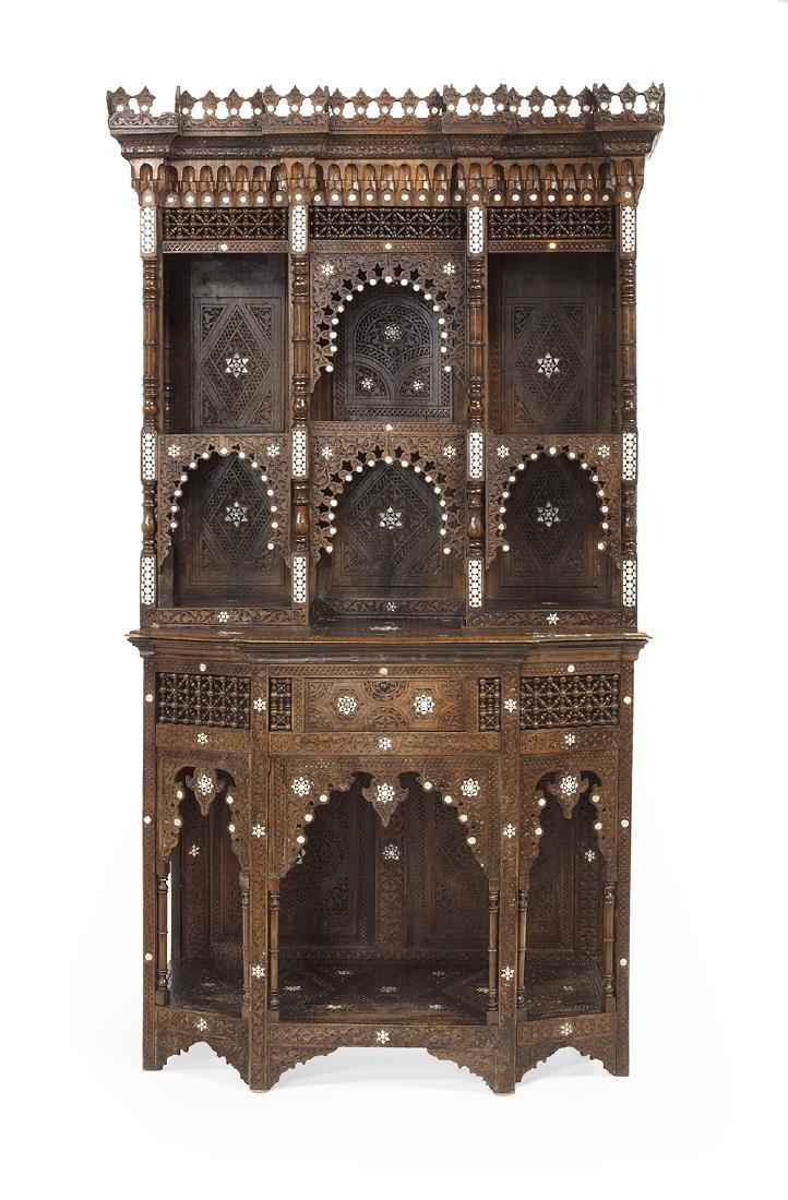 North African Hardwood Cabinet