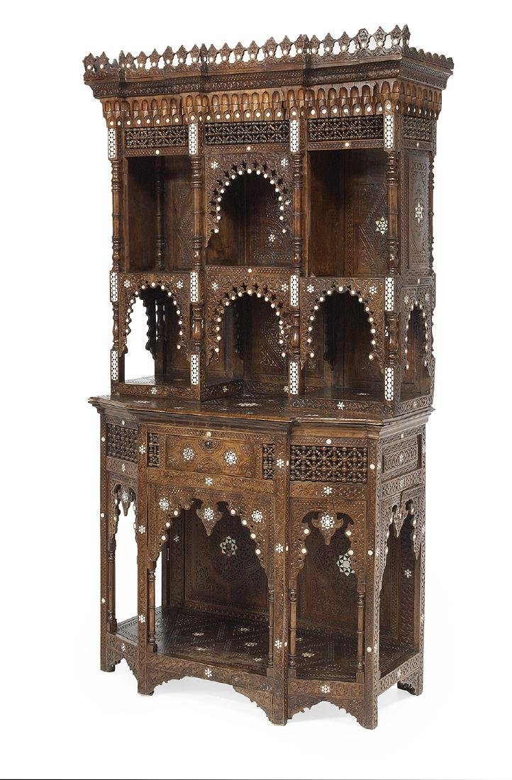 North African Hardwood Cabinet - 2