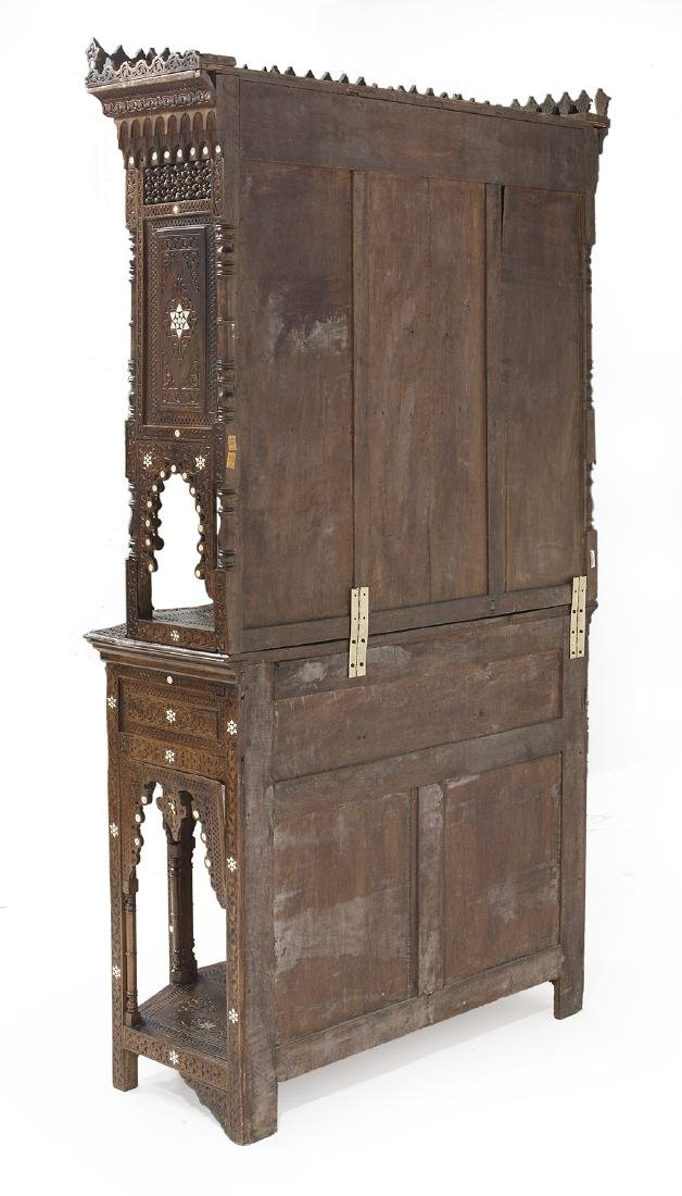 North African Hardwood Cabinet - 4
