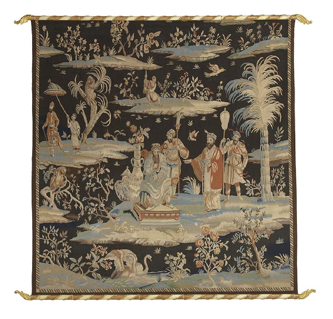 French Handwoven Tapestry