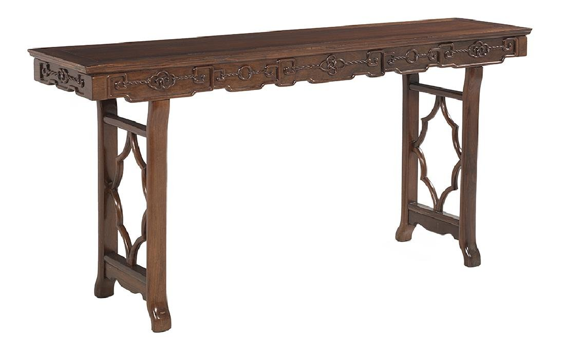 Chinese-Style Hardwood Altar Table