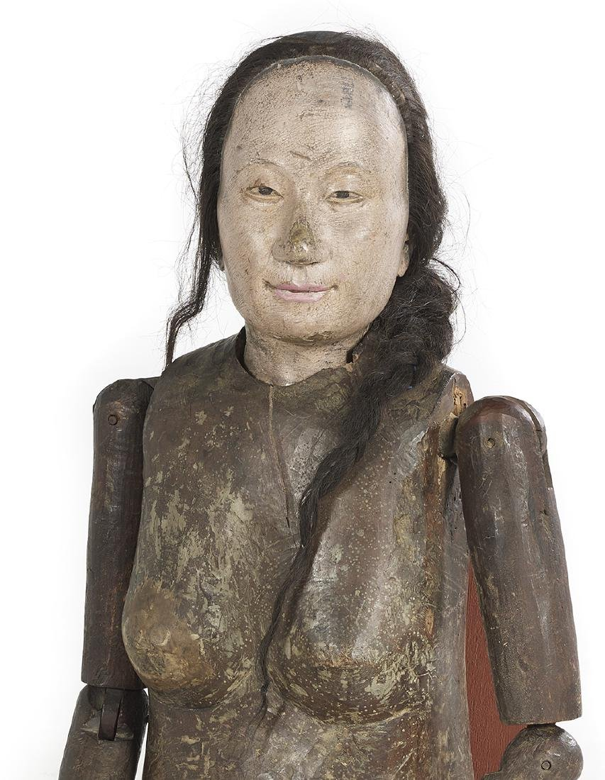 Rare Life-Sized Chinese Female Lay Figure - 2