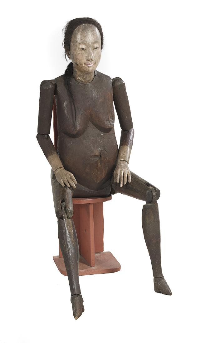 Rare Life-Sized Chinese Female Lay Figure
