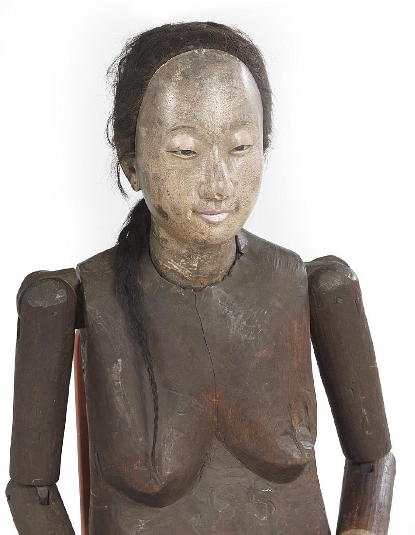Rare Life-Sized Chinese Female Lay Figure - 2