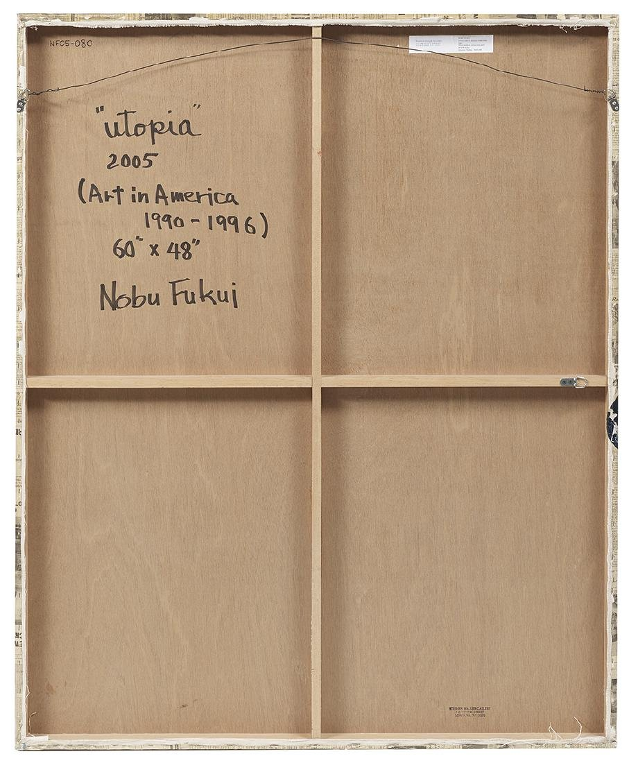 Nobu Fukui (Japanese/New York, b. 1942) - 2