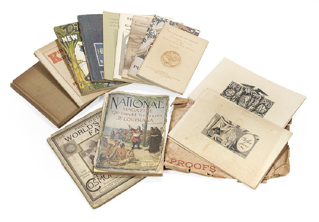 Group of Louisiana Books & Ephemera