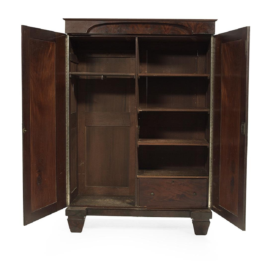 American Late Classical Mahogany Armoire - 3