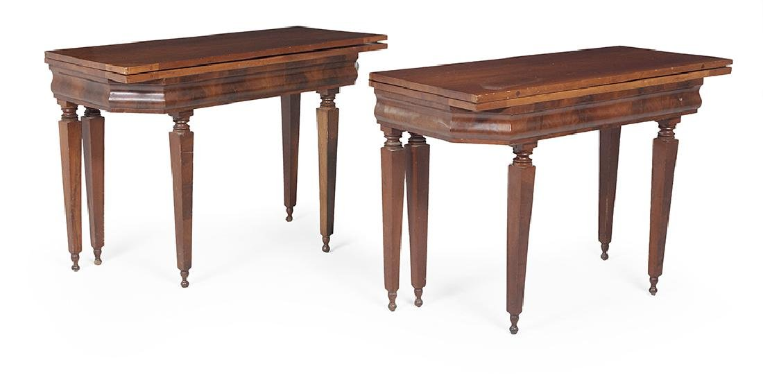 American Late Classical Dining Table