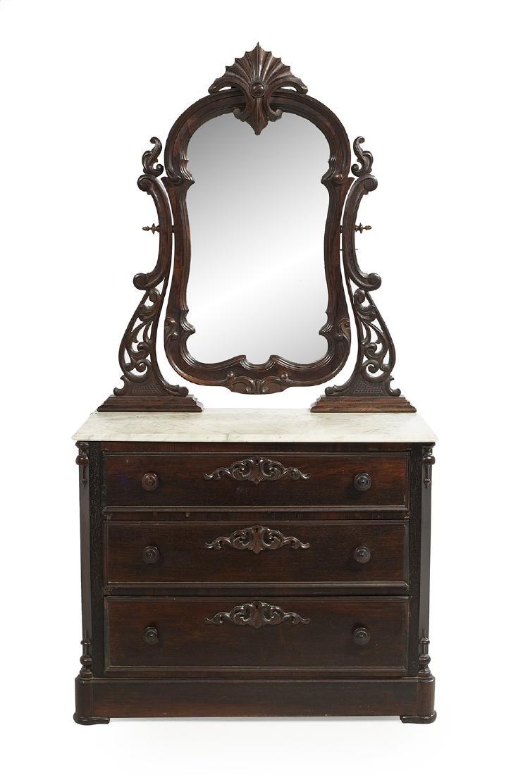 American Rococo Revival Dresser