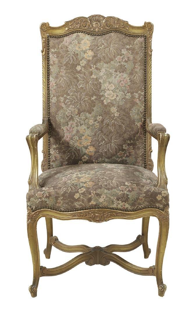 Twelve Louis XV/XVI-Style Dining Chairs - 2