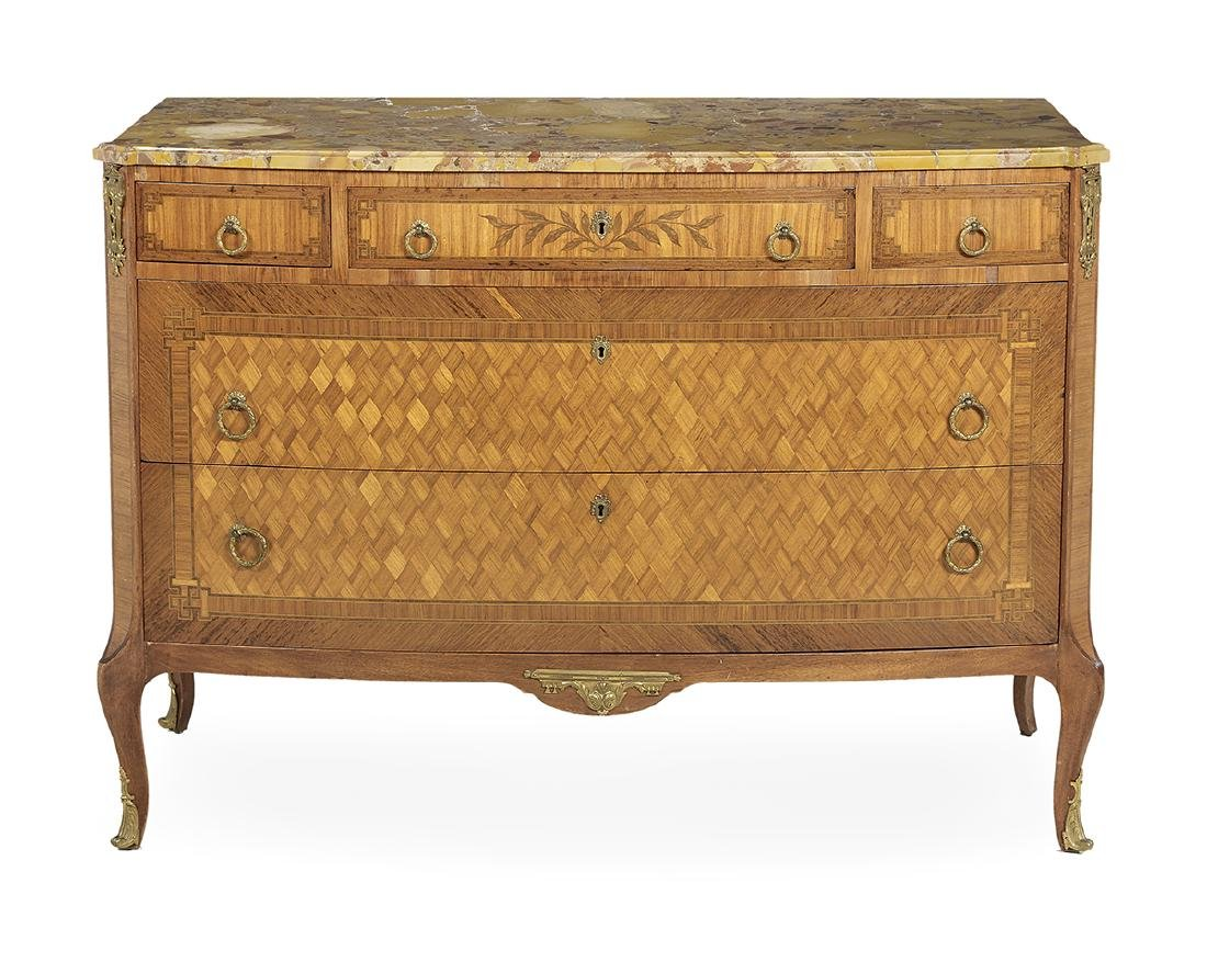 Transitional Louis XV/XVI-Style Commode