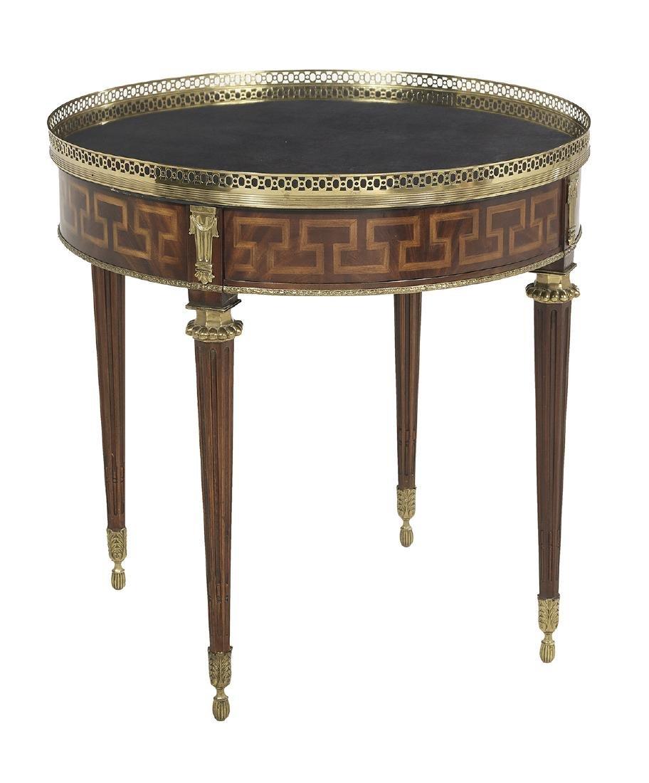 Louis XVI-Style Mahogany Center Table
