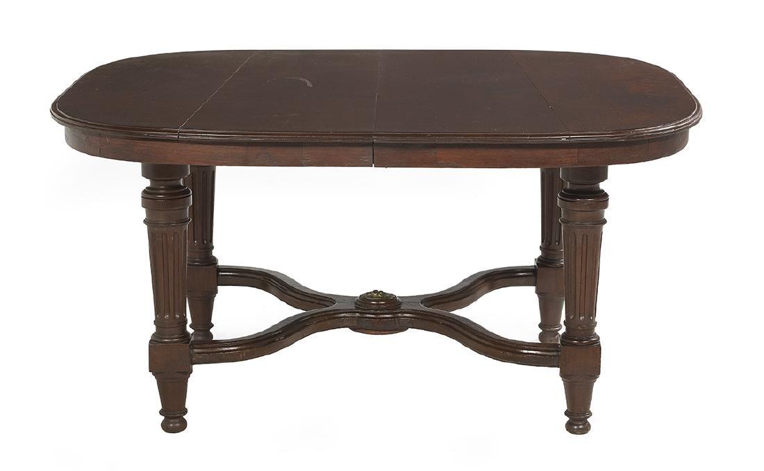 Louis XVI-Style Mahogany Dining Table