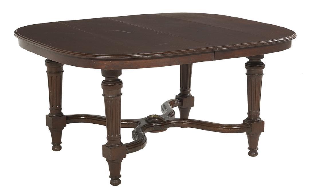 Louis XVI-Style Mahogany Dining Table - 2