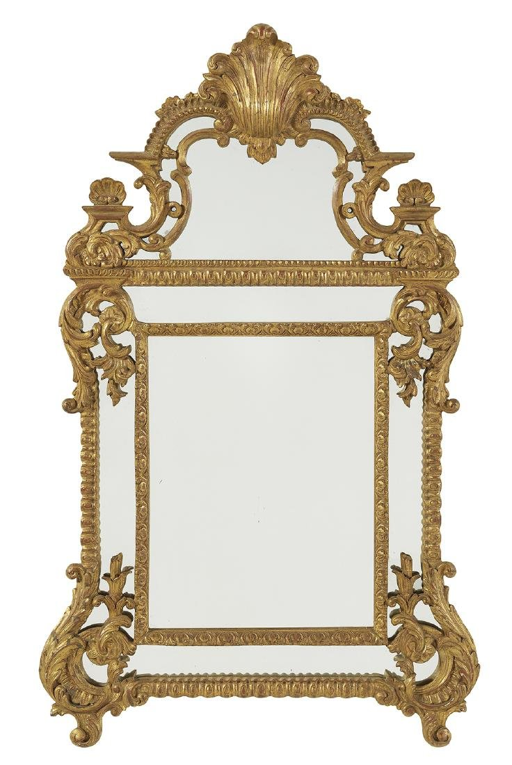 Regence-Style Giltwood Mirror