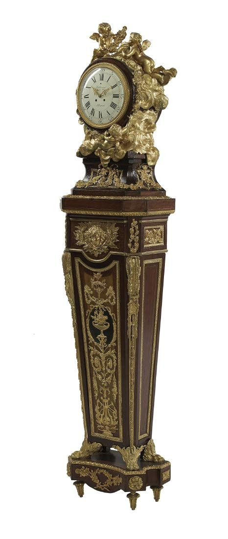 French Louis XIV-Style Tall Case Clock - 2