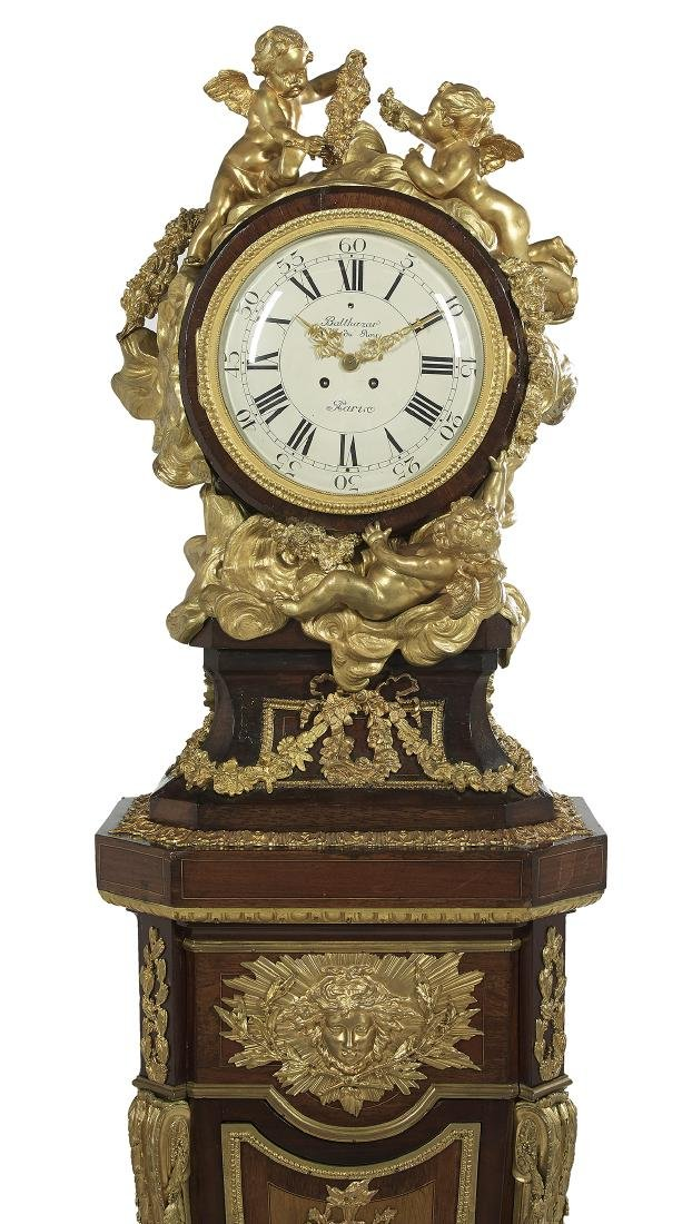 French Louis XIV-Style Tall Case Clock - 3