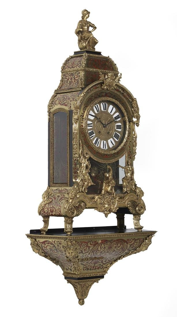 Louis XIV-Style French Boulle Bracket Clock - 2