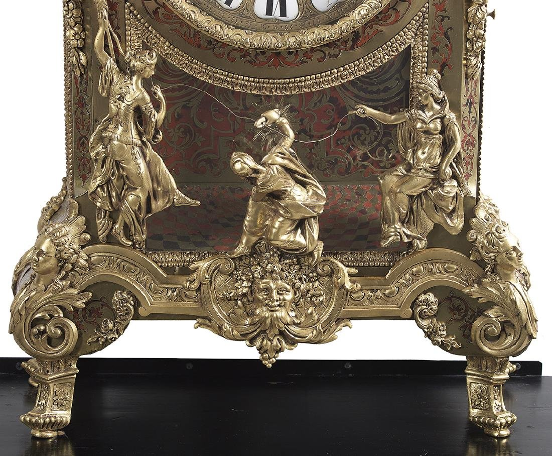 Louis XIV-Style French Boulle Bracket Clock - 4