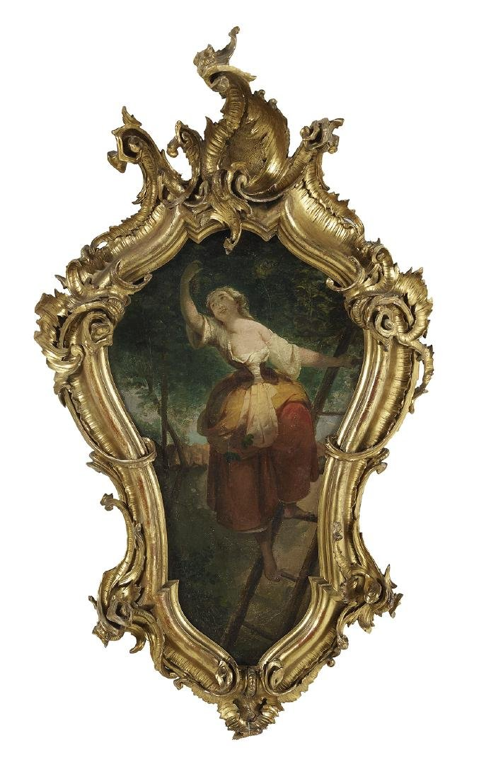 Pair of Continental Allegorical Paintings - 2