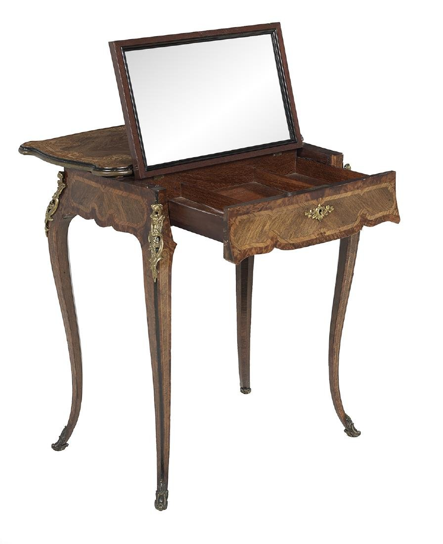 Napoleon III Mixed Woods Dressing Table