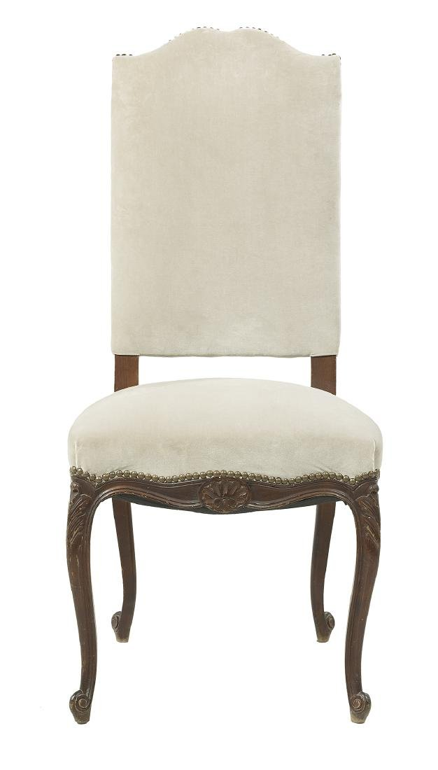 Suite of Six Louis XV-Style Mahogany Side Chairs - 2