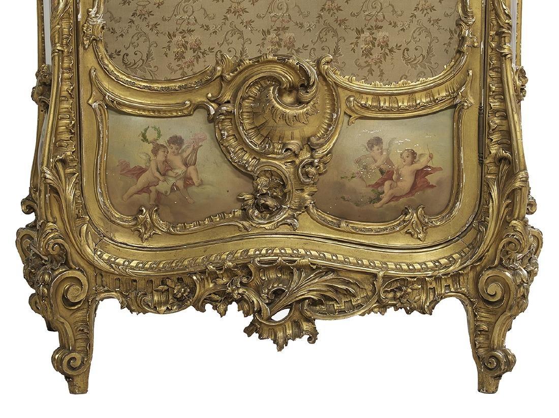 Louis XV-Style Giltwood Vitrine - 2
