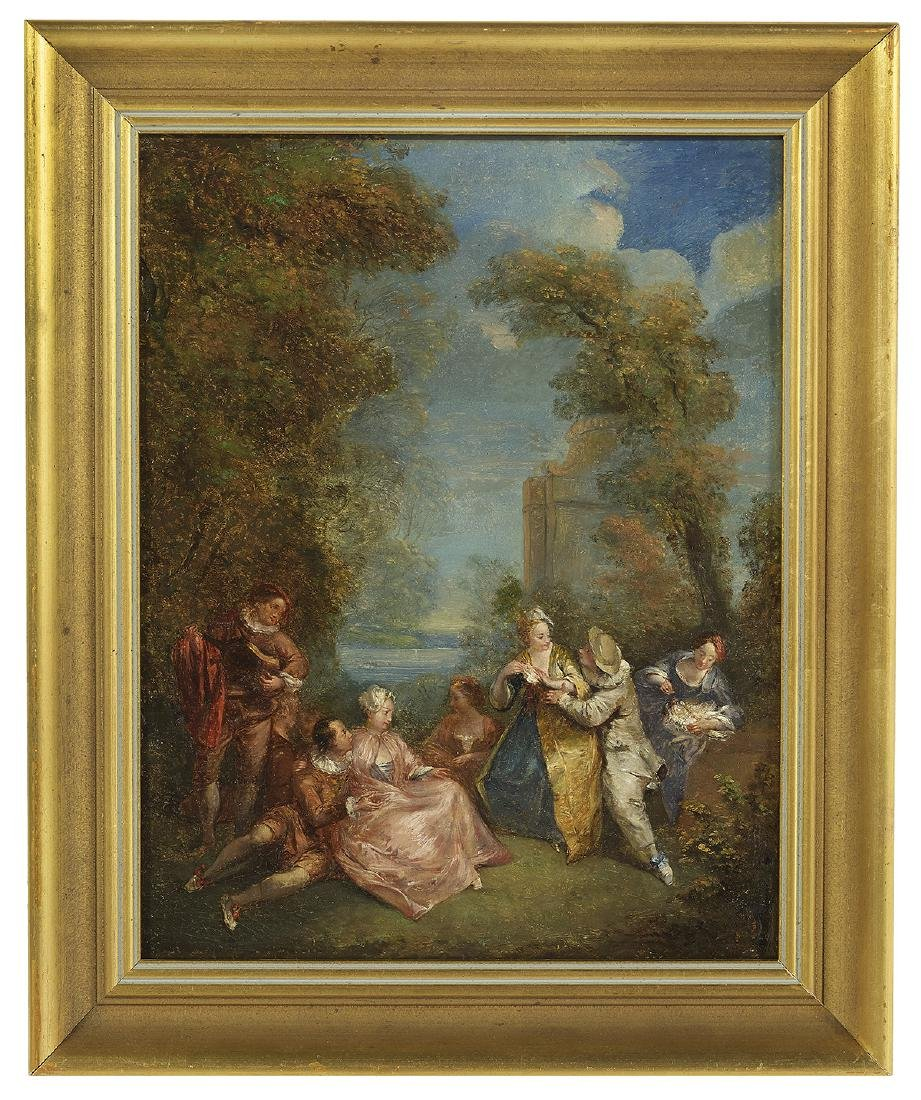 School of Jn.-Antoine Watteau (French, 1684-1721)