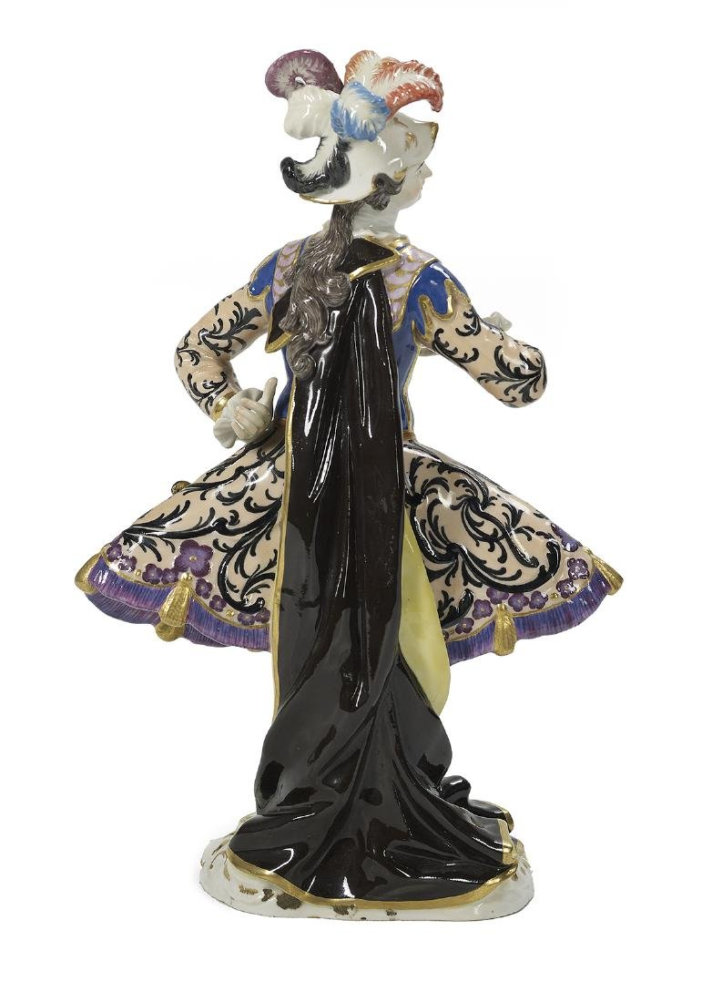 German Meissen Porcelain Figure of a Dancer - 2