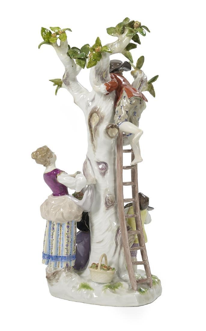 German Meissen Porcelain Figural Group - 2