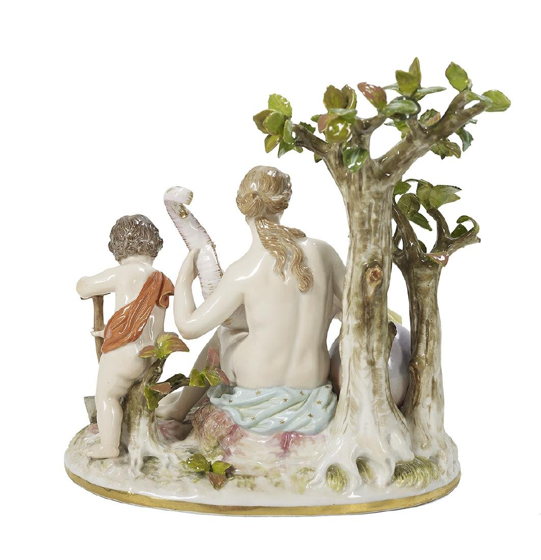 German Meissen Porcelain Figural Group - 2