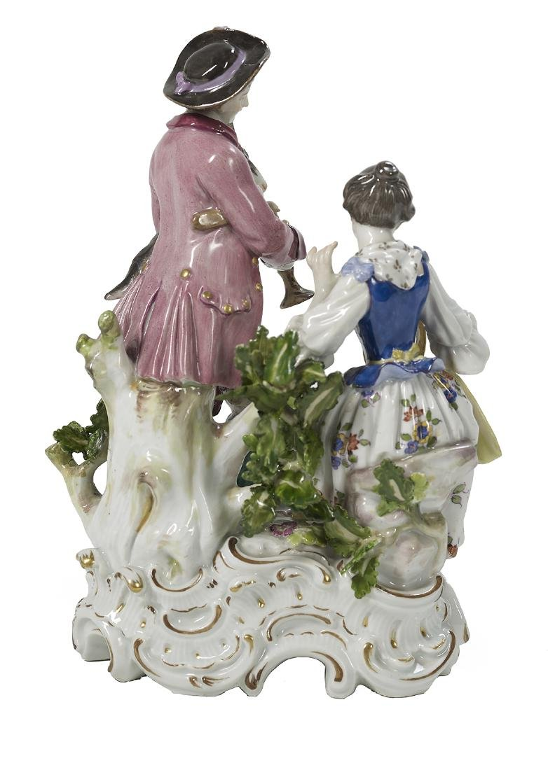 German Meissen Porcelain Group - 2
