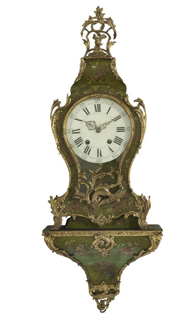 French Bronze-Mounted Bracket Clock